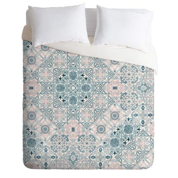 Marta Barragan Camarasa Ceramic Tile Patterns Duvet Cover Set
