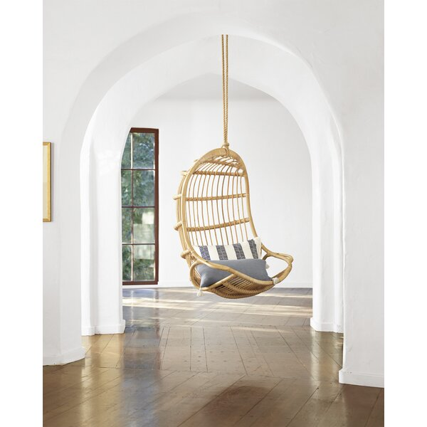 American Hanging Rattan Swing Chair By Sika Design