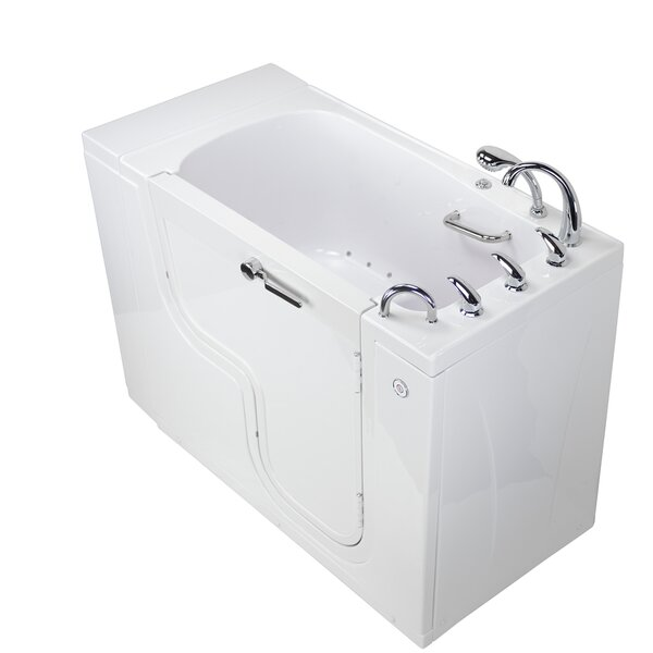 Transfer Acrylic 52 x 32 Walk-In Air Bathtub by Ella Walk In Baths