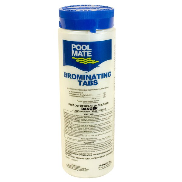 Spa Brominating Tabs by Pool Mate