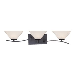 Affordable Hyland 3-Light Vanity Light By Designers Fountain