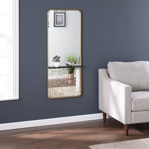 Radmill Contemporary with Shelf Wall Mounted Mirror