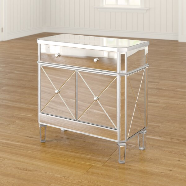 Shelly 2 Door Mirrored Accent Cabinet By Willa Arlo Interiors