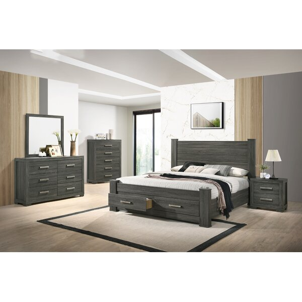 Mushegh Platform 6 Piece Bedroom Set by Ebern Designs