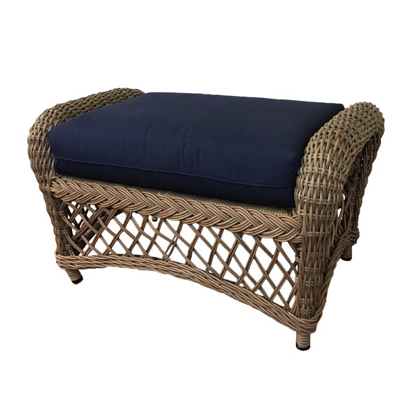 Decicco Ottoman with Cushion by Bay Isle Home