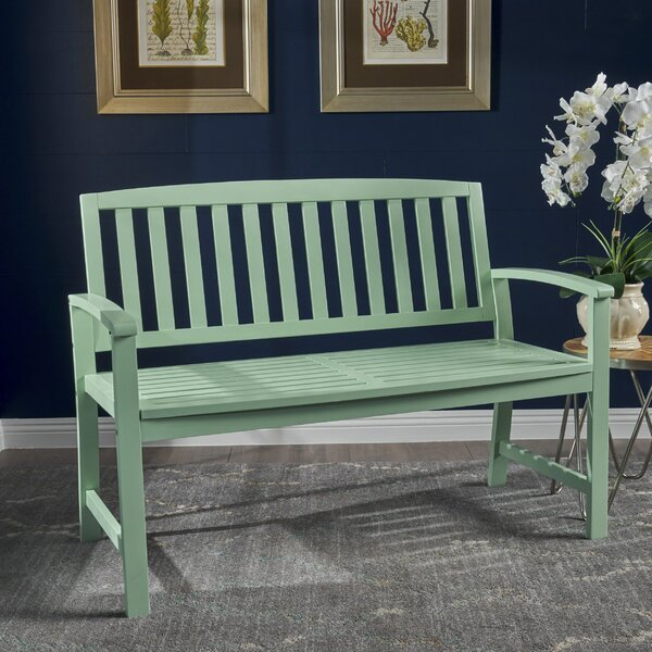 Estanislao Indoor Wood Bench by Highland Dunes