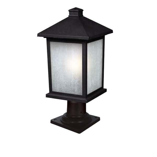 Stevens Outdoor 1-Light Pier Mount Light by Andover Mills