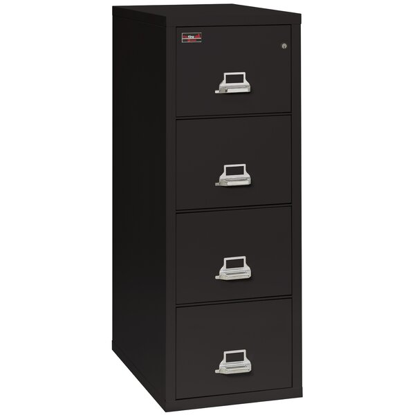 Fireproof 4-Drawer 2-Hour Rated Vertical File Cabi