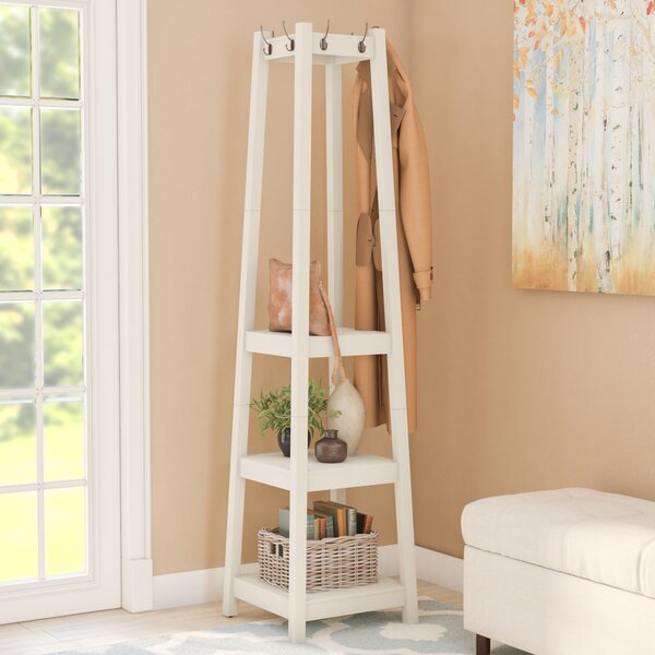 Swaffham Storage Shelve Coat Rack by Andover Mills