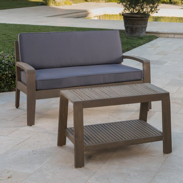 Laverty 2 Piece Sofa Set with Cushions by Sol 72 Outdoor
