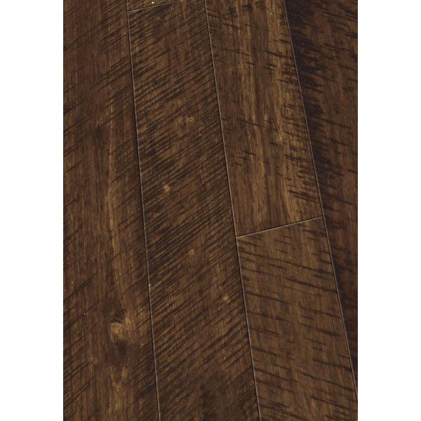 4.5 Solid Hevea Hardwood Flooring in Distressed Sunset by Maritime Hardwood Floors