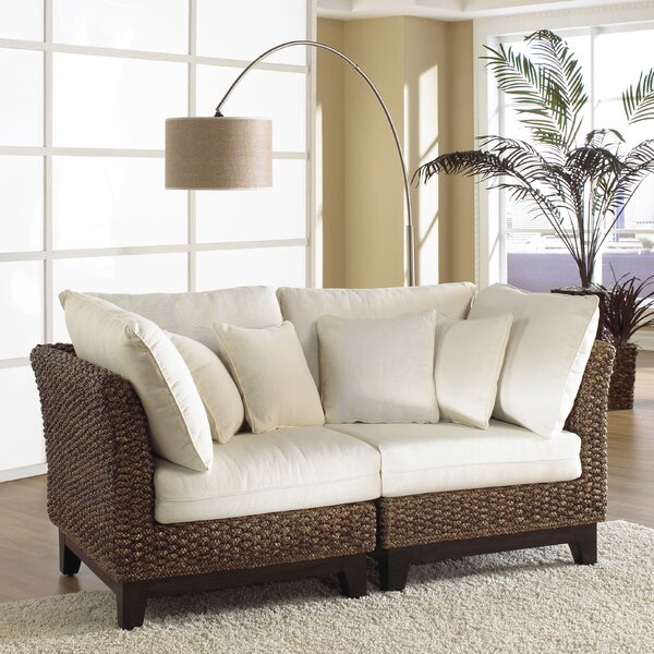 Sanibel Modular Loveseat by Panama Jack Sunroom