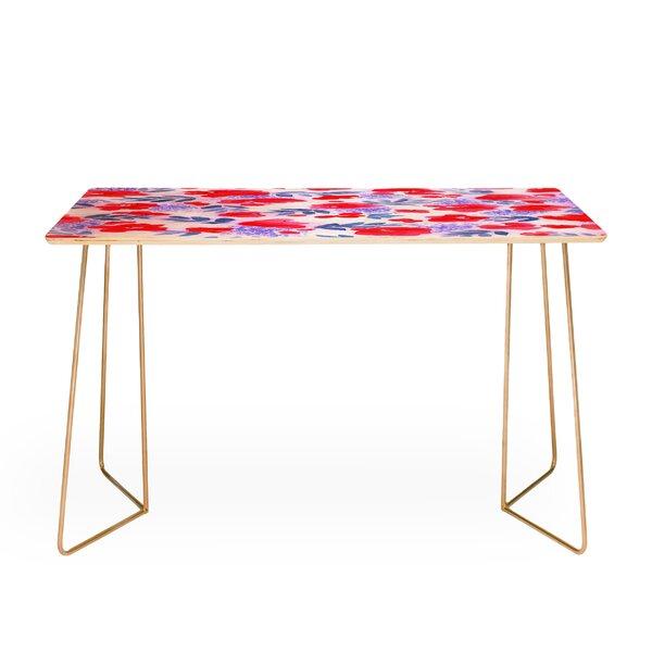 Jacqueline Maldonado Floret Desk by East Urban Home
