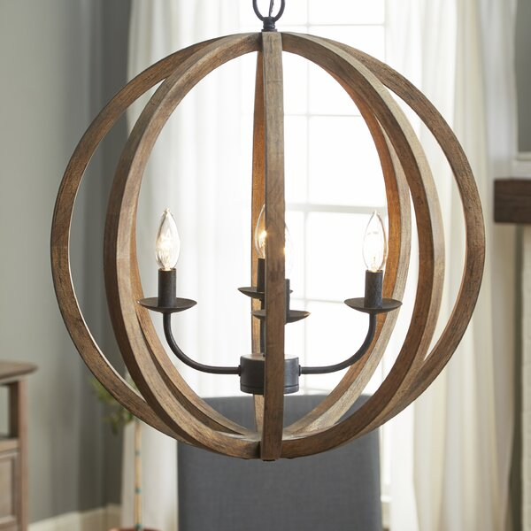 Stanton 4-Light Globe Chandelier by Birch Lane™
