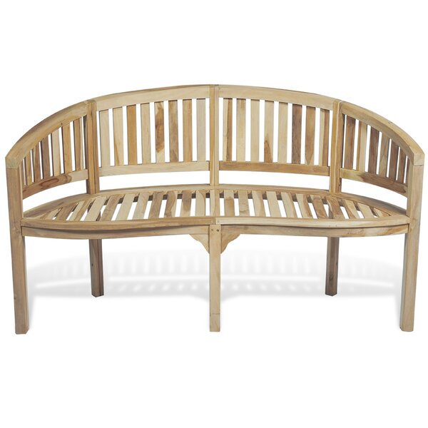 Teak Garden Bench by East Urban Home East Urban Home