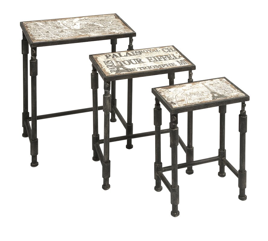 3 Piece Knoxlin Nesting Table Set