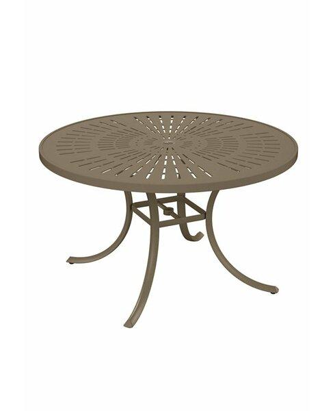 La'Stratta Metal Dining Table by Tropitone Tropitone