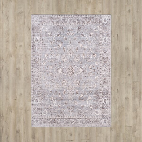 Carol Gray Area Rug by Darby Home Co