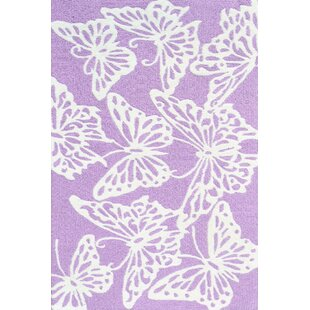 Handmade Lavender Area Rug By Park Avenue Rugs
