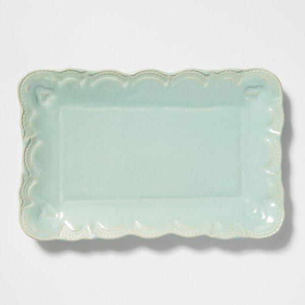 Incanto Lace Retangular Platter by VIETRI