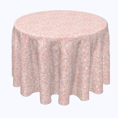 Kacie Damask Round Tablecloth Astoria Grand Size 70 X 70 From Wayfair North America Ibt Shop
