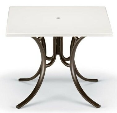 Werzalit Square Dining Table by Telescope Casual