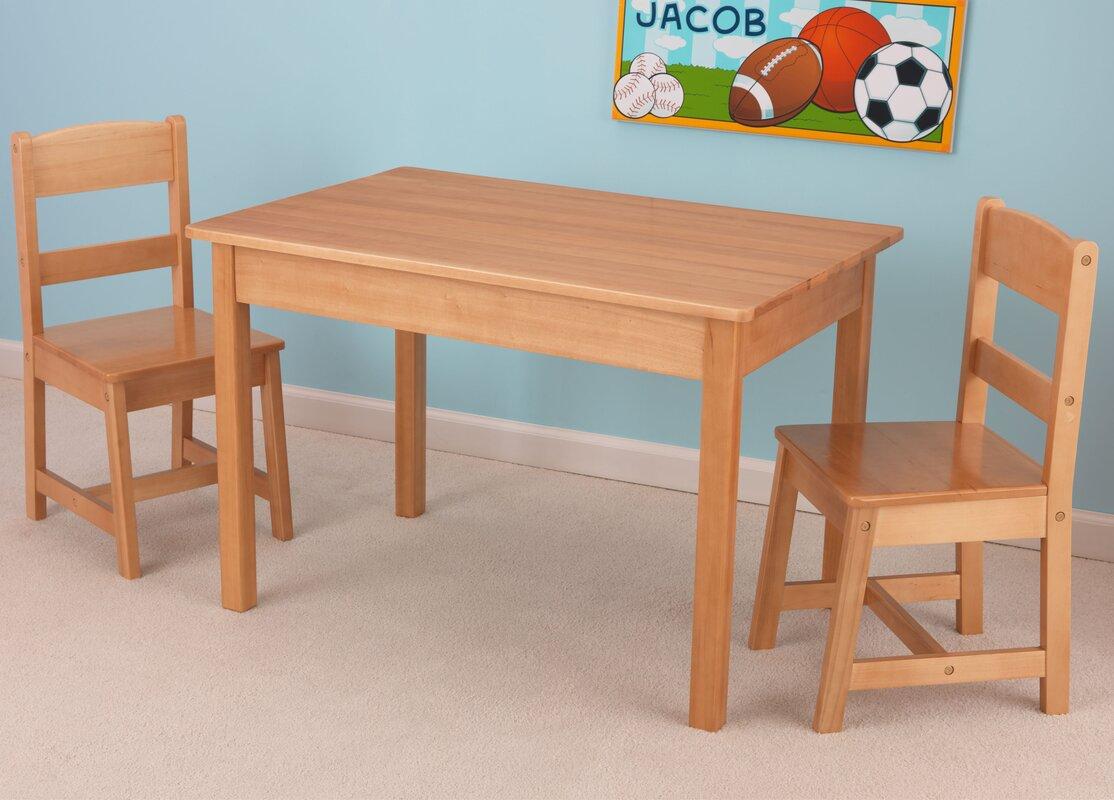 Bon Rectangle Kidsu0027 Table U0026 Chair Sets Youu0027ll Love | Wayfair