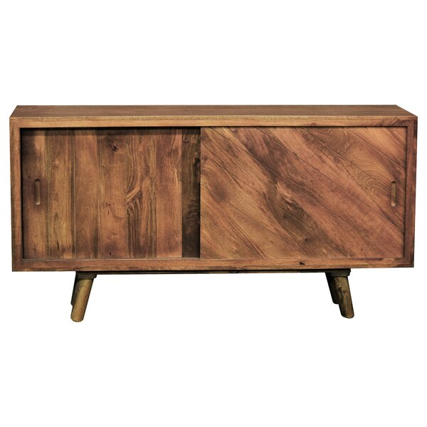 Keavey 2 Door Accent Cabinet by Union Rustic