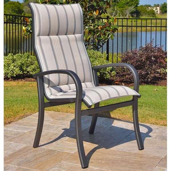Terrabay Patio Dining Chair by Outdoor Masterpiece