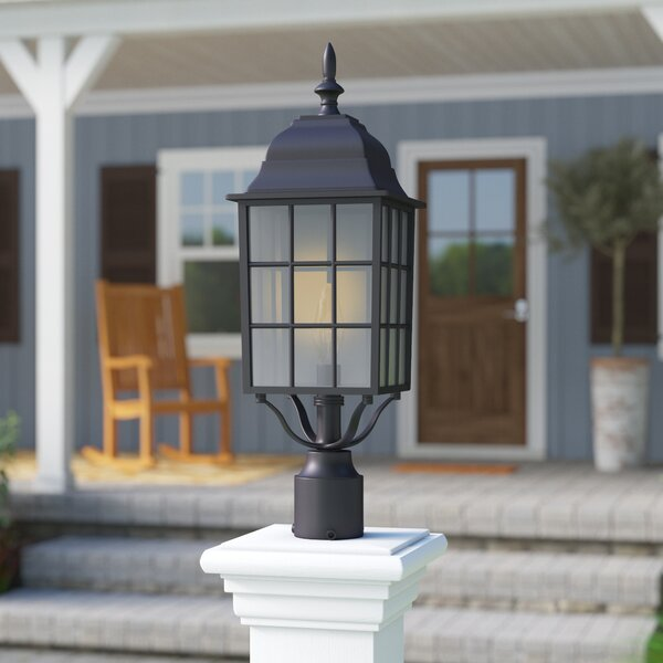 Faning Outdoor 1-Light Lantern Head by Charlton Home