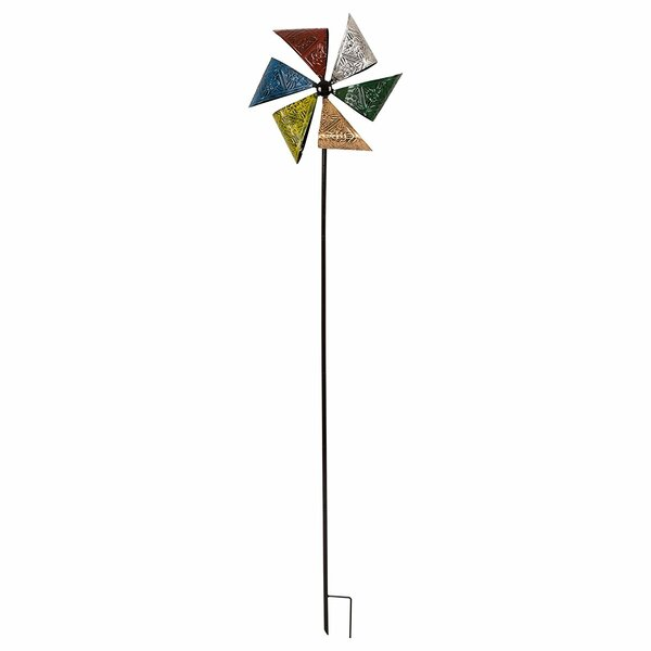 Iron Antique Emboss Garden Stake by Glitzhome
