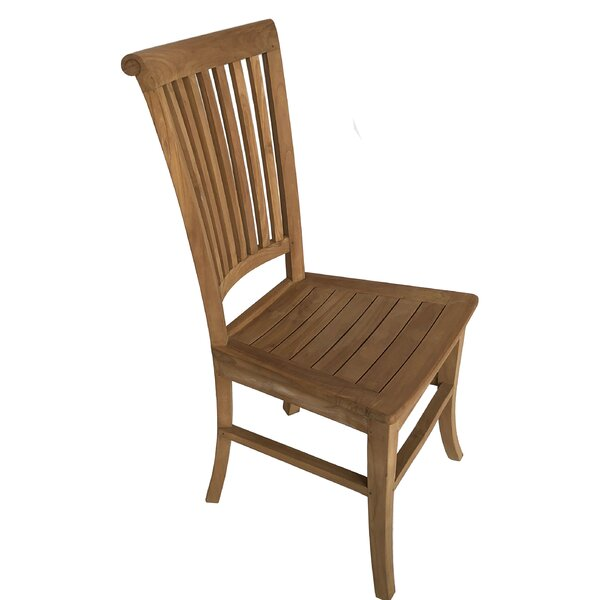 Hendrum Solid Wood Dining Chair by Highland Dunes