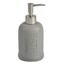Stoneware Bathroom Soap Dispenser by Evideco
