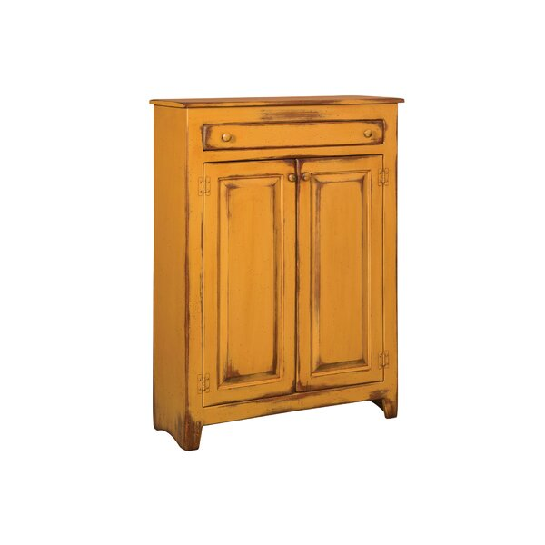Ruths Pie Safe Storage 2 Door Accent Cabinet by dCOR design dCOR design