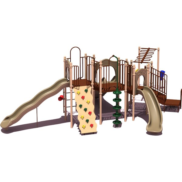 UPlay Today Slide Mountain Playground System by Ultra Play