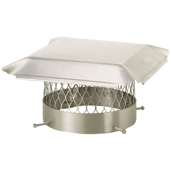 Round Bolt-On Single-Flue Chimney Cap by HY-C