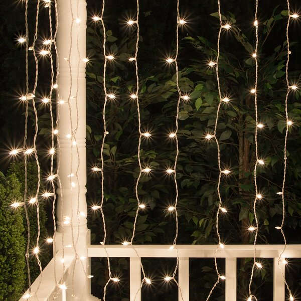 Mini Curtain String Light by The Holiday Aisle