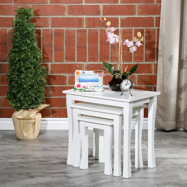 Dustin 3 Piece Nesting Tables By Alcott Hill