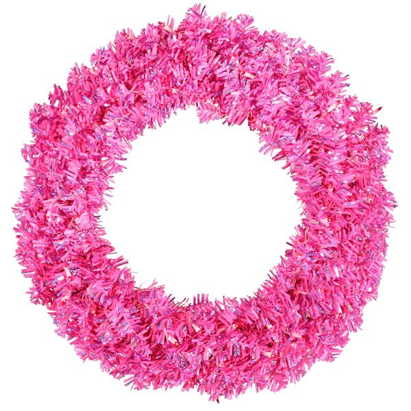 30 Artificial Sparkling Christmas Wreath by The Holiday Aisle