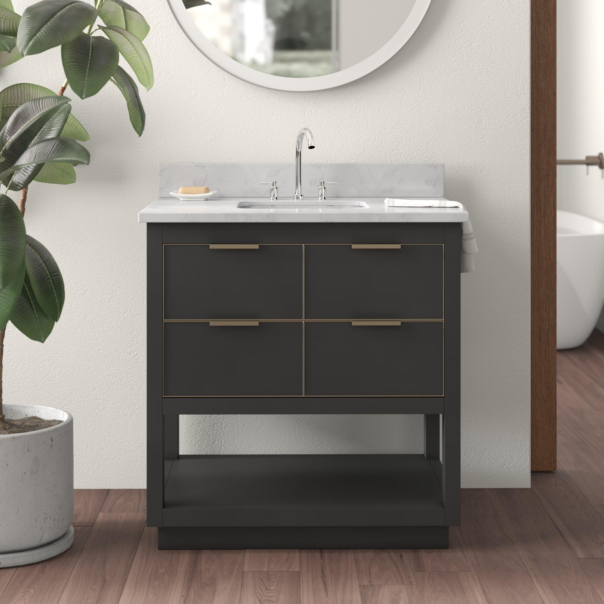 Edmund 31 Single Bathroom Vanity Set