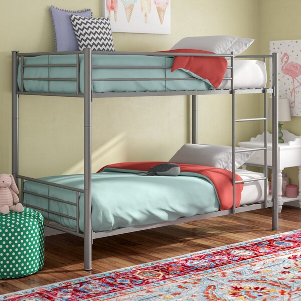 Pineland Twin over Twin Bunk Bed by Harriet Bee