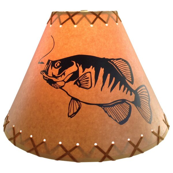 Crappie 14 Paper Empire Lamp Shade by Millwood Pines