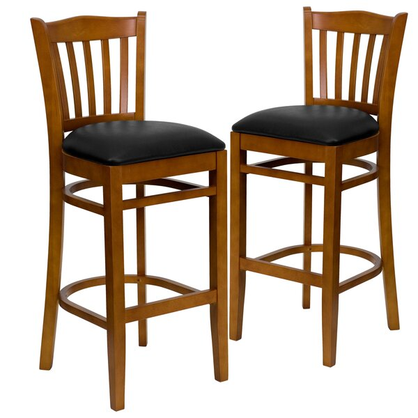 Loughran 31 Bar Stool (Set of 2) by Red Barrel Studio