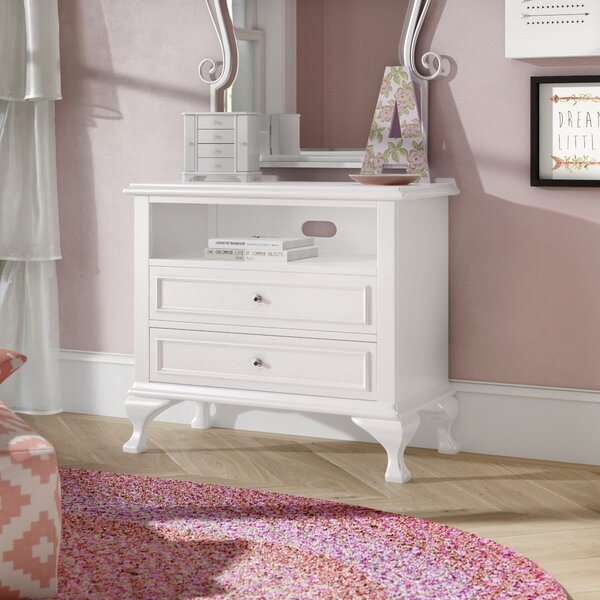 Consuelo 2 Drawer Media Chest by Harriet Bee