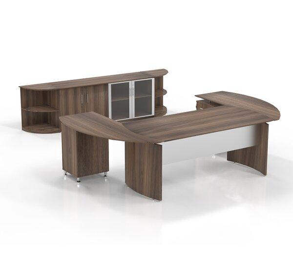 Medina 7-Piece U-Shape Desk Office Suite by Mayline Group