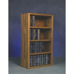 104 CD Wall Mounted Multimedia Storage Rack