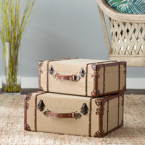 Blanca 2 Piece Trunk Set by Mistana