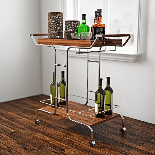 Irvin Bar Cart by Zipcode Design
