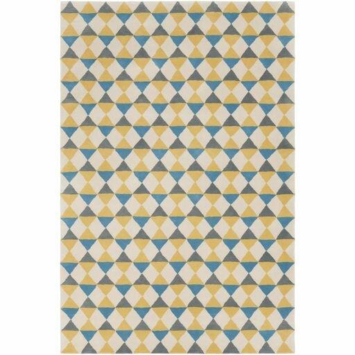 Lina Hand-Tufted Geometric Area Rug by Elle Decor