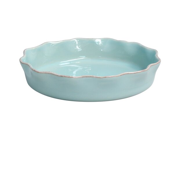 Cook & Host Ruffled Pie Dish by Casafina